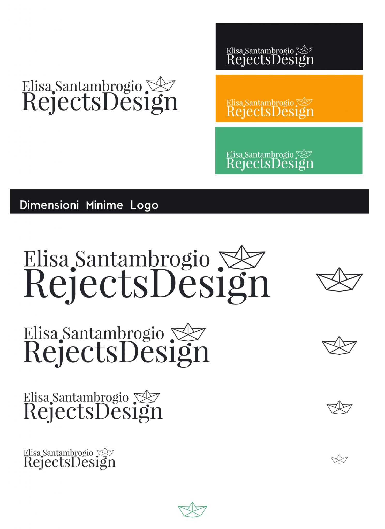 Rejects Design logo