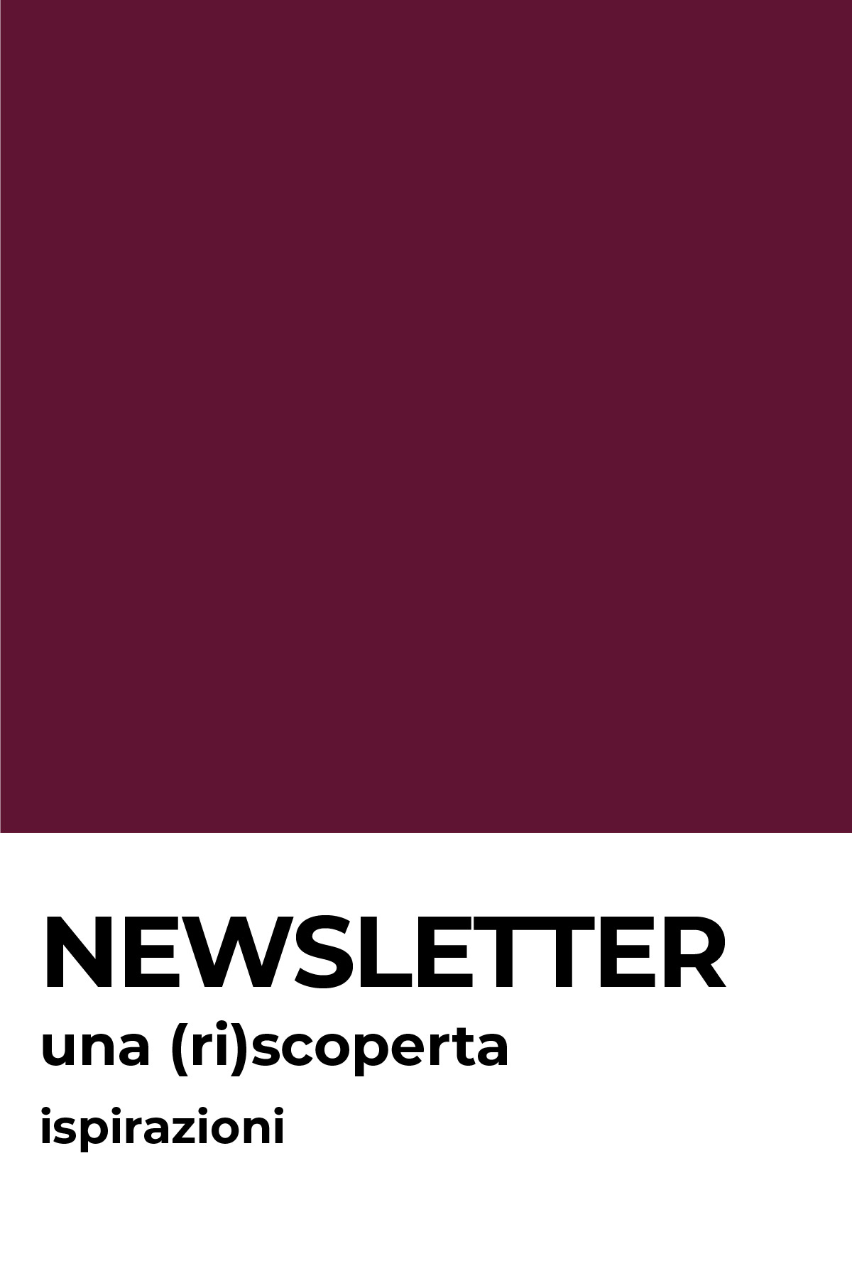 riscoprire le newsletter